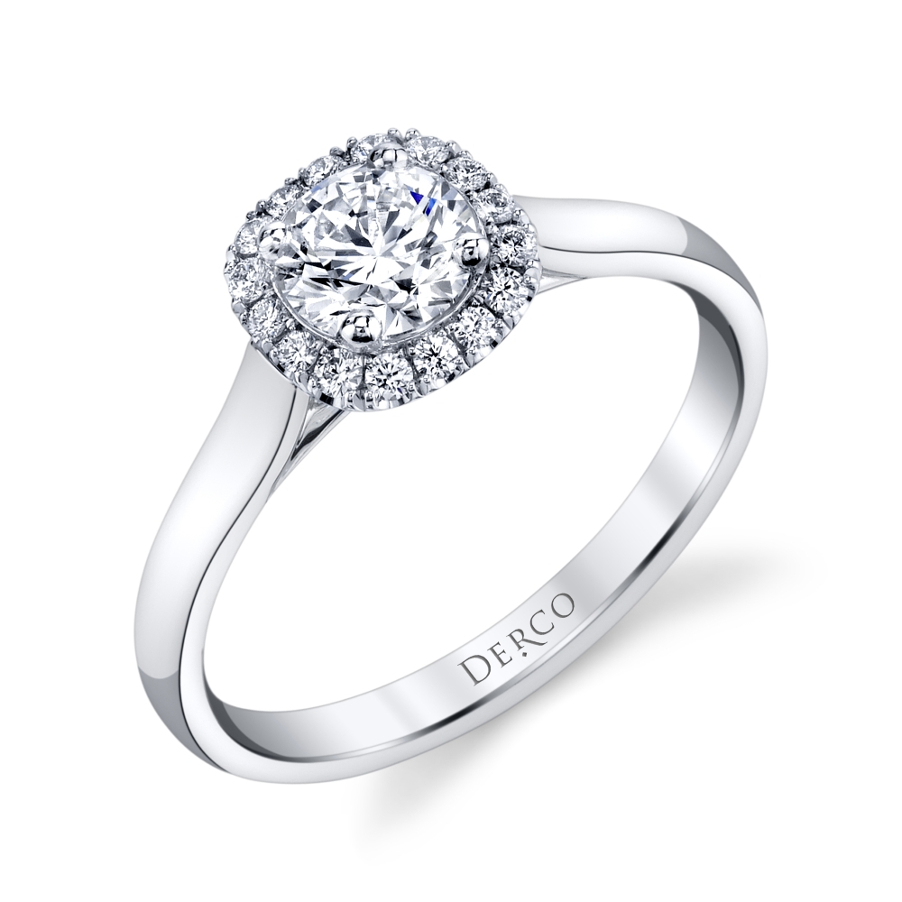 Classic Halo Engagement Ring Pertaining To 2017 Classic Sparkle Halo Rings (View 7 of 25)