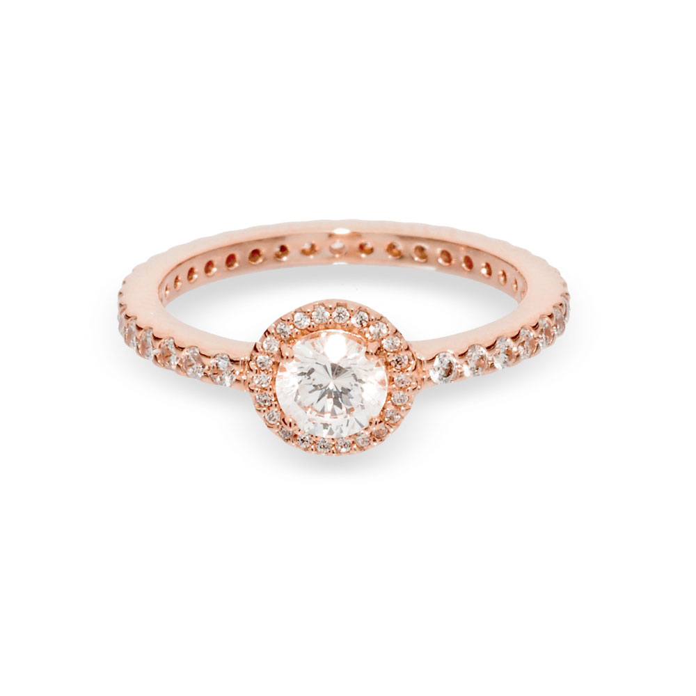 Classic Sparkle Halo Ring Intended For Recent Classic Sparkle Halo Rings (View 1 of 25)