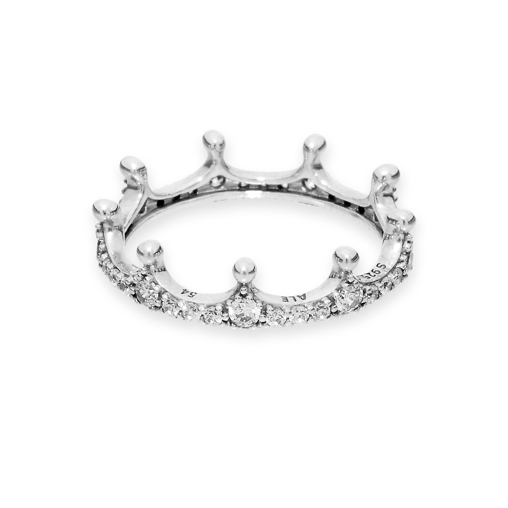 Clear Sparkling Crown Ring With 2017 Clear Sparkling Crown Rings (View 3 of 25)