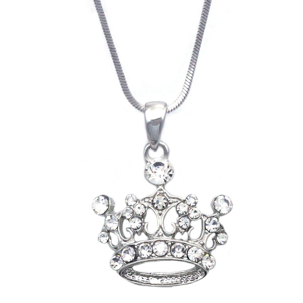 Featured Photo of Tiara Crown Collier Necklaces
