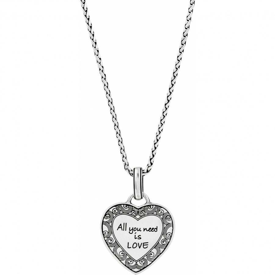 Crystal Voyage Heart Necklace With Recent Heart & Love You More Round Pendant Necklaces (View 2 of 25)