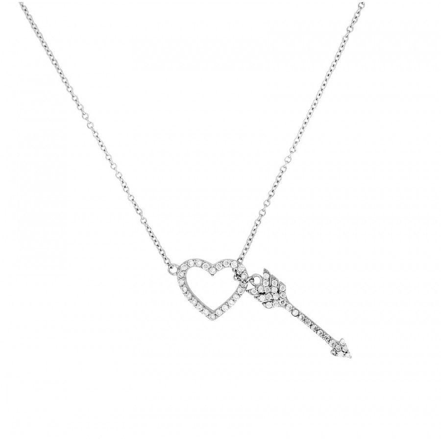 Cupid's Arrow Necklace | Azendi Jewellery | Cupids Arrow | Jewelry Regarding Most Recent Arrow Of Cupid Dangle Charm Necklaces (View 10 of 25)