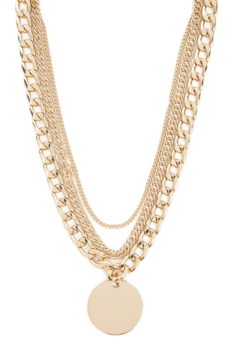 Curb Chain Necklace Set Throughout Current Curb Chain Necklaces (View 5 of 25)