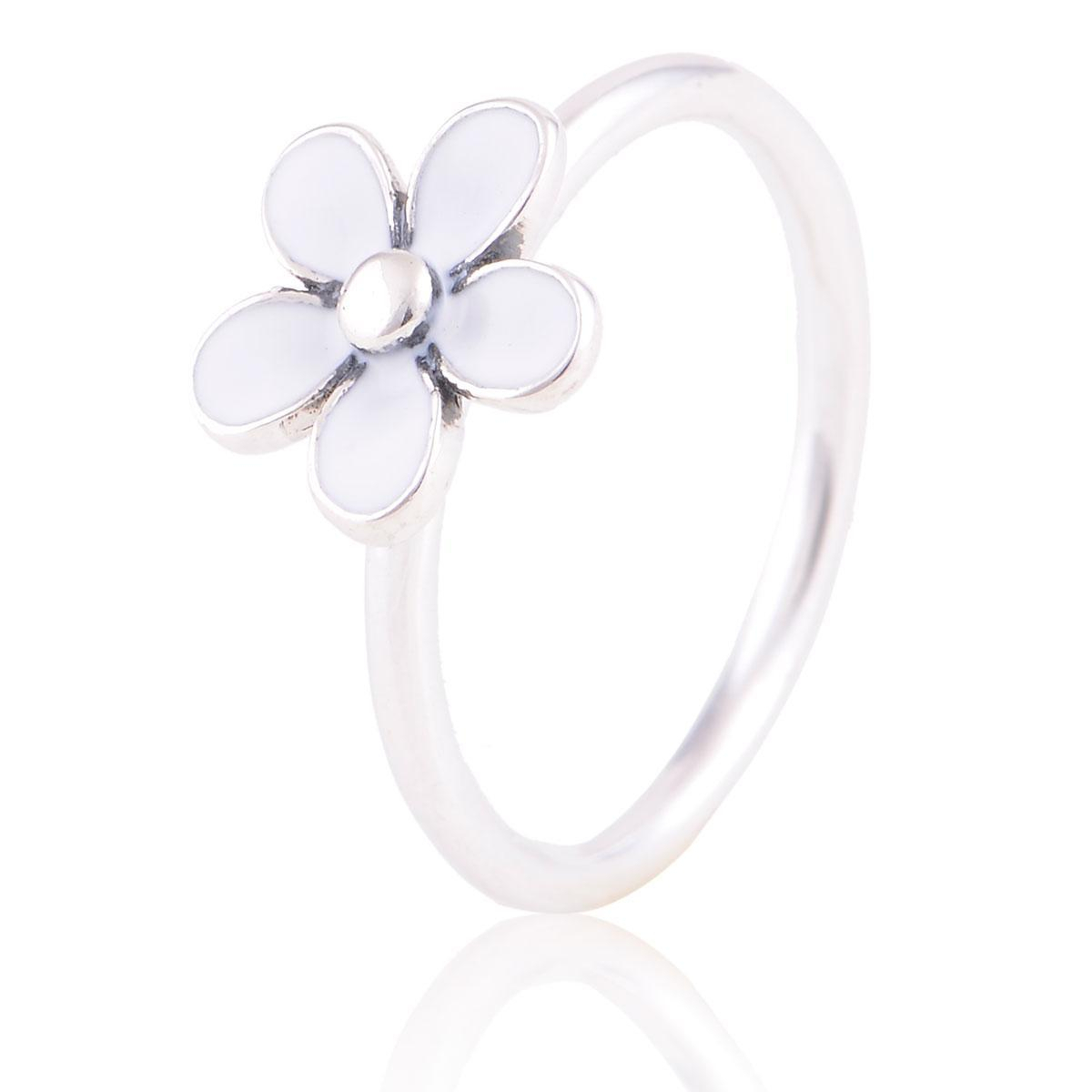 Daisy Flower Rings 925 Sterling Silver Pandora Style Fits For Women S S925 Sterling Silver Free Shipping Rip103h9 With Most Up To Date Daisy Flower Rings (View 4 of 25)