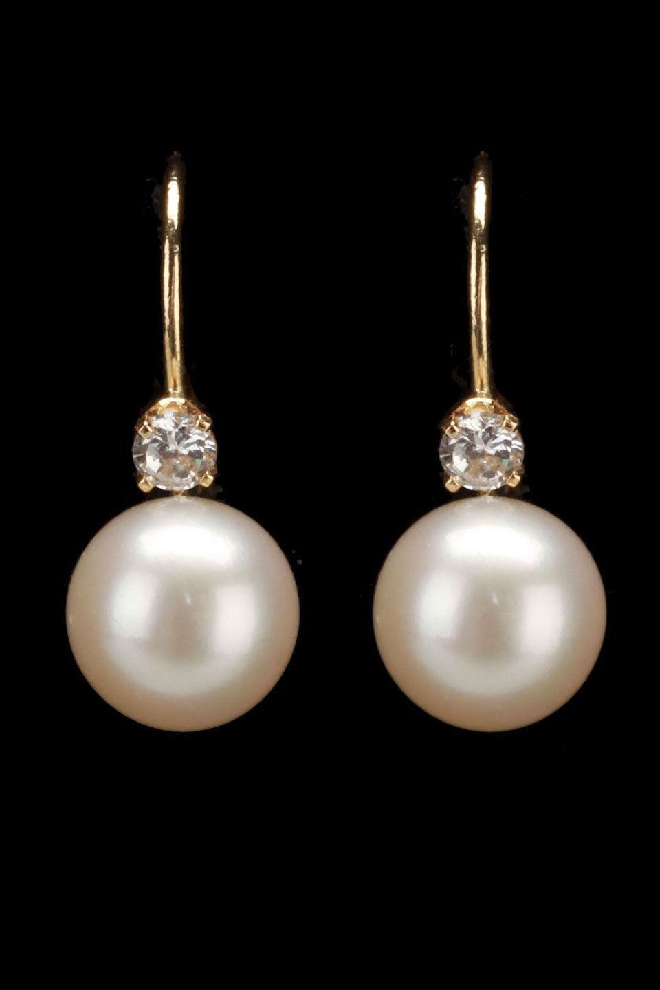 Dangle Pearl Earrings, Pearl Drop Earrings,freshwater Pearl Earring Pertaining To Most Recent Dangling Freshwater Cultured Pearl Rings (View 8 of 25)