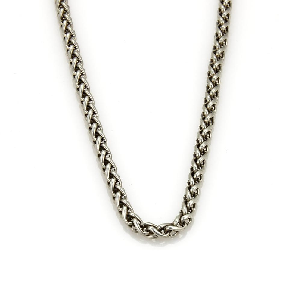 David Yurman 17758 – Sterling Silver 4mm Cable Classics Wheat Chain Necklace With 2019 Classic Cable Chain Necklaces (View 18 of 25)