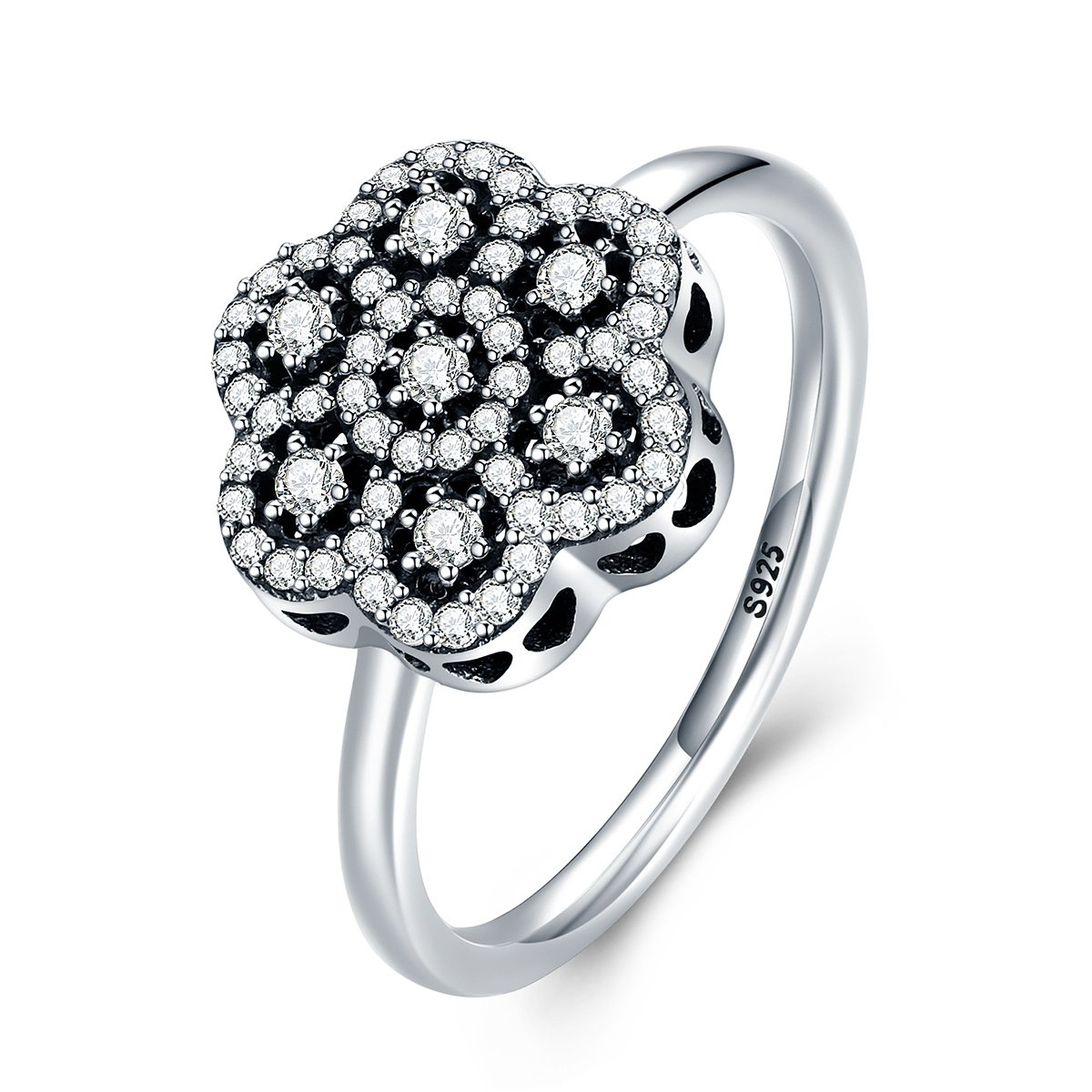 Deals Sparkling Floral Daisy Lace Ring Cheap Online With Regard To Best And Newest Sparkling Daisy Flower Rings (View 11 of 25)