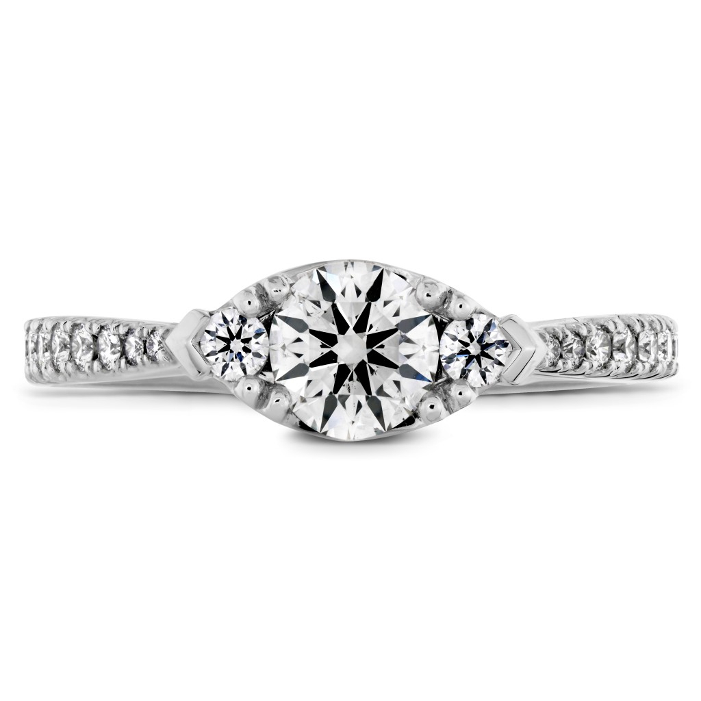 Destiny Horizontal Regal Engagement Ring – Diamond Band – Charles With Regard To Most Popular Regal Band Rings (Gallery 13 of 25)