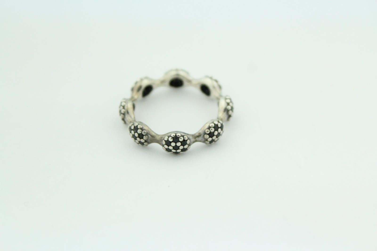 Details About Pandora (190889Nck) Eight Pod Black Pavé – Size: 6.5 –  (View 2 of 25)