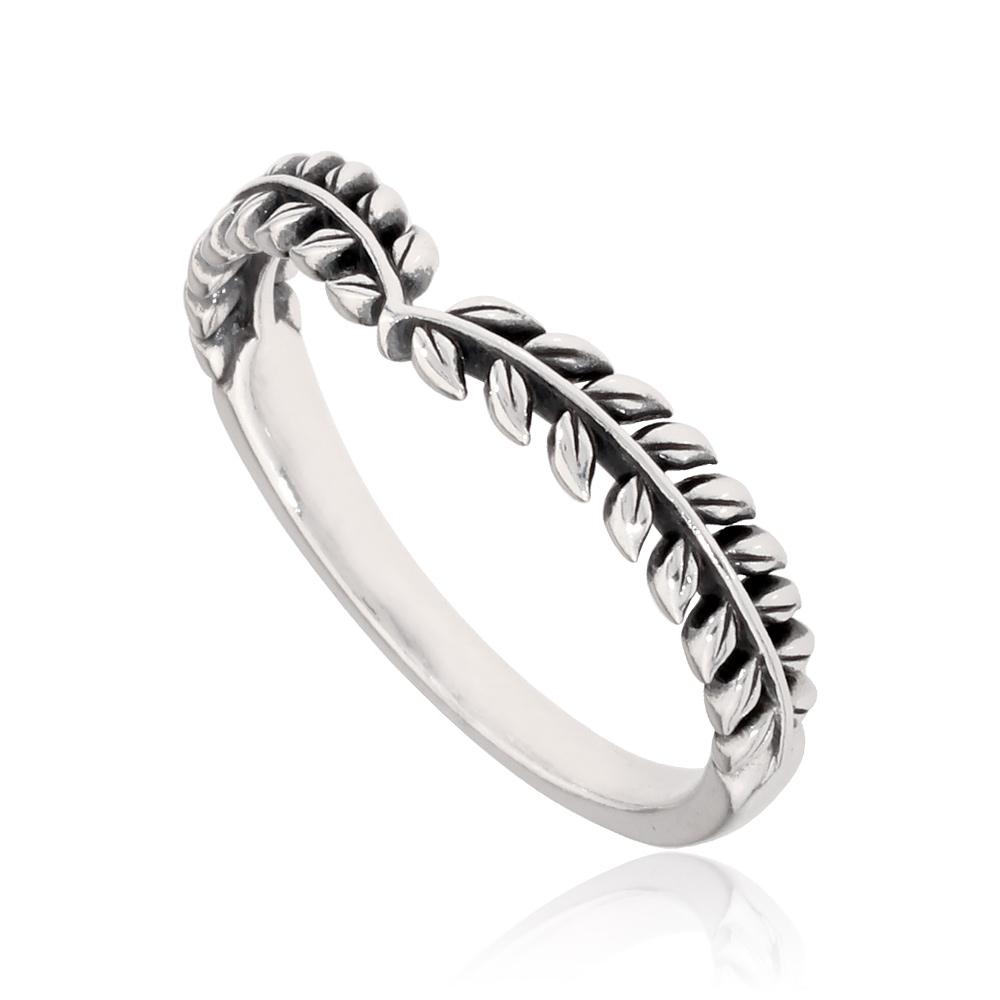 Details About Pandora Seeds Wishbone Ring In Sterling Silver Size 11 19768164 Regarding 2018 Tiara Wishbone Rings (View 14 of 25)