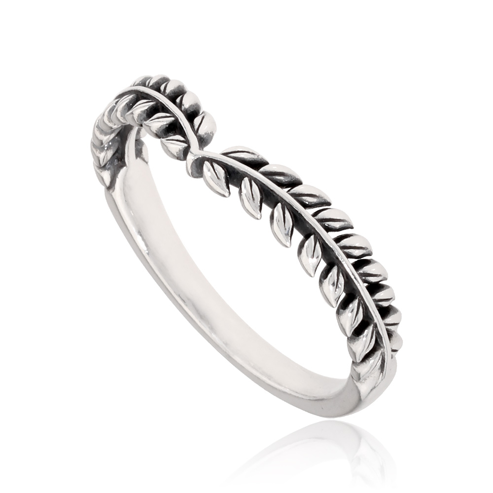 Details About Pandora Seeds Wishbone Ring In Sterling Silver Size 11 19768164 With Regard To Current Tiara Wishbone Rings (View 15 of 25)
