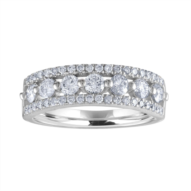 Diamond Band, Lab Grown Diamond Wedding Band, Anniversary Gift, Anniversary  Bands For Women, Anniversary Rings For Women, Diamond Rings Throughout 2020 Diamond Anniversary Bands In White Gold (View 12 of 25)