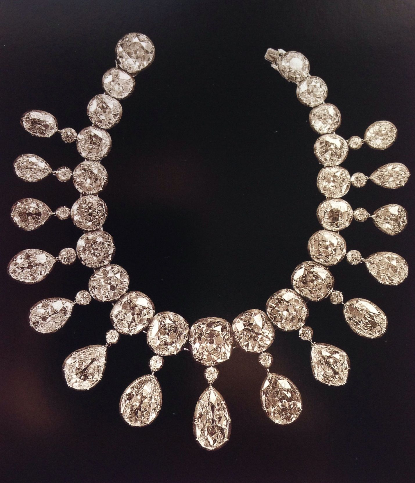 Diamond Collier D'esclave, Or In English Necklace! The Total For Most Recent Tiara Crown Collier Necklaces (Gallery 13 of 25)