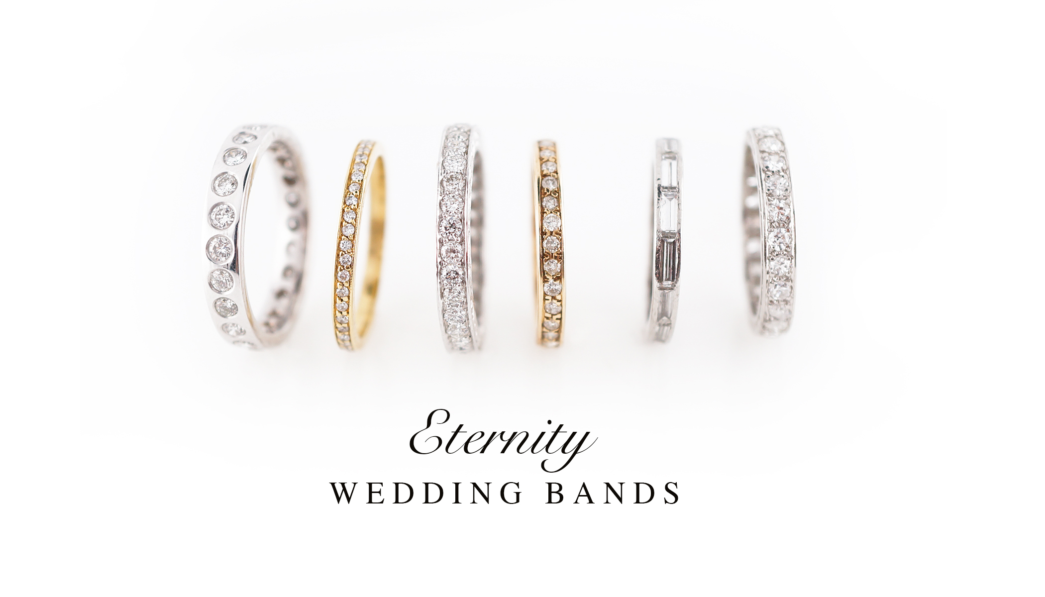 Diamond Eternity Wedding Bands I Vintage Eternity Bands Pertaining To Best And Newest Diamond Milgrain Anniversary Bands In White Gold (Gallery 19 of 25)