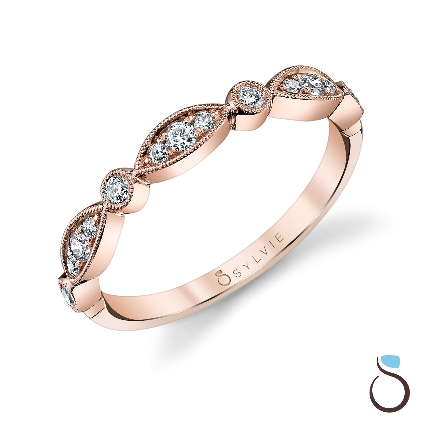 Diamond Jewelry, Vintage And Modern Bridal Jewelry | Wedding With Regard To Newest Marquise And Round Diamond Alternating Anniversary Bands In Rose Gold (View 4 of 25)