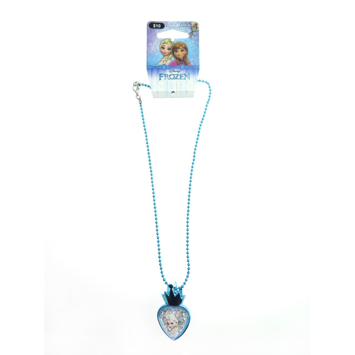 Disney Frozen Heart Necklace Intended For Best And Newest Heart Fan Pendant Necklaces (View 6 of 25)