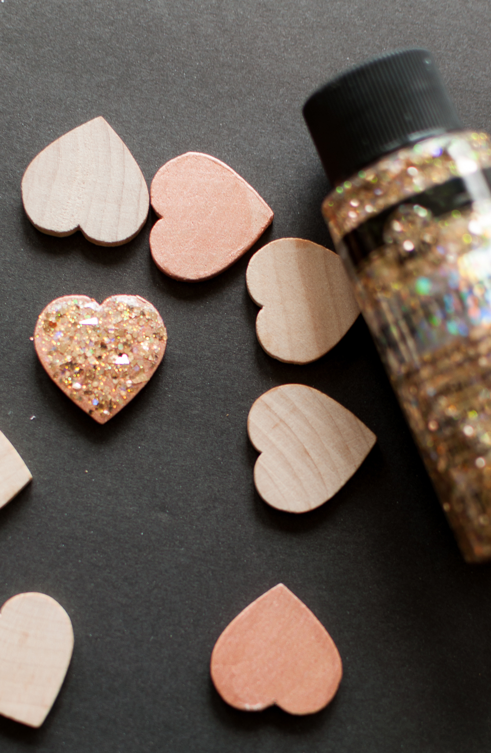 Diy Glitter Heart Necklace Tutorial – Cherished Bliss Within Current Sparkle & Hearts Rings (View 4 of 25)