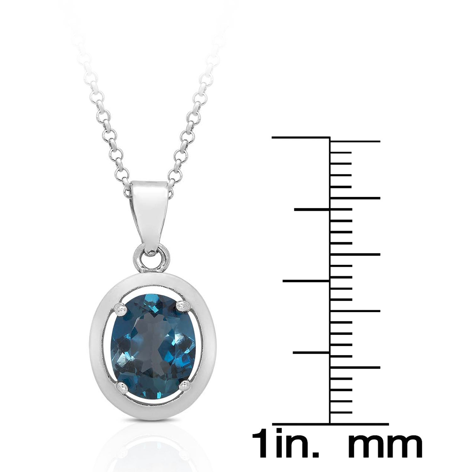 Dolce Giavonna Red Bow Gift Box Sterling Silver London Blue Topaz Earring, Necklace, Ring, Or Jewelry Set Throughout Best And Newest London Blue December Birthstone Locket Element Necklaces (View 3 of 25)