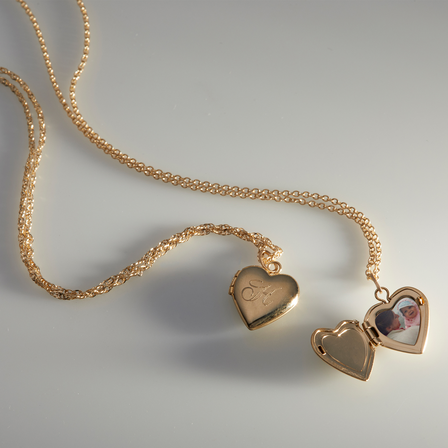 Dollhouse Heart Locket, Gold With Regard To Best And Newest Heart Padlock Locket Element Necklaces (View 9 of 25)