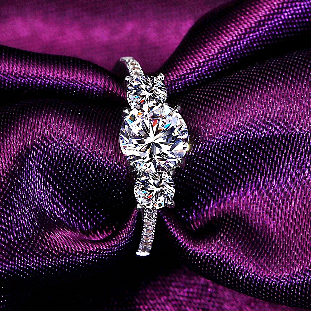 Dreamcarnival1989 Sparkling Cz Ring For Women Engagement Jewelry  Anniversary Gift Rhodium Color Princess Crown Anel Bagues Femme In Rings  From Jewelry With Most Recent Pink Sparkling Crown Rings (View 7 of 25)