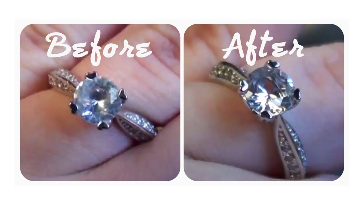☼ Quick Tip: How To Make Your Engagement Ring Really Sparkle! (Cheap, Easy  & Effective) ☼ Pertaining To 2017 Polished & Sparkling Hearts Open Rings (View 1 of 25)