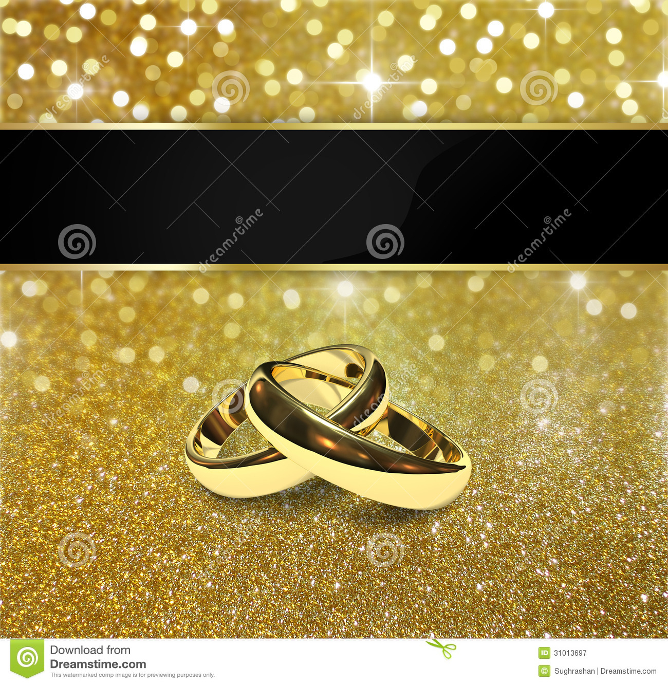 Elegant Glitter Wedding Rings Stock Illustration – Illustration Of For Most Current Elegant Sparkle Rings (View 5 of 25)