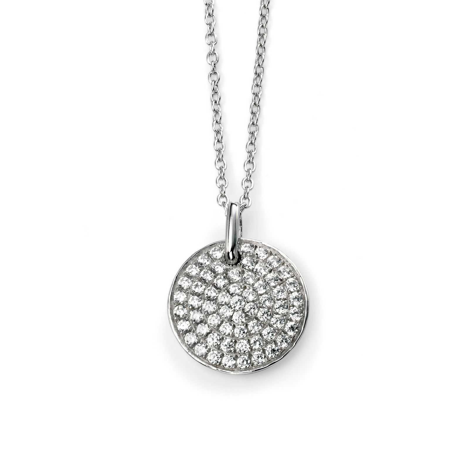 Featured Photo of Pavé Locket Element Necklaces