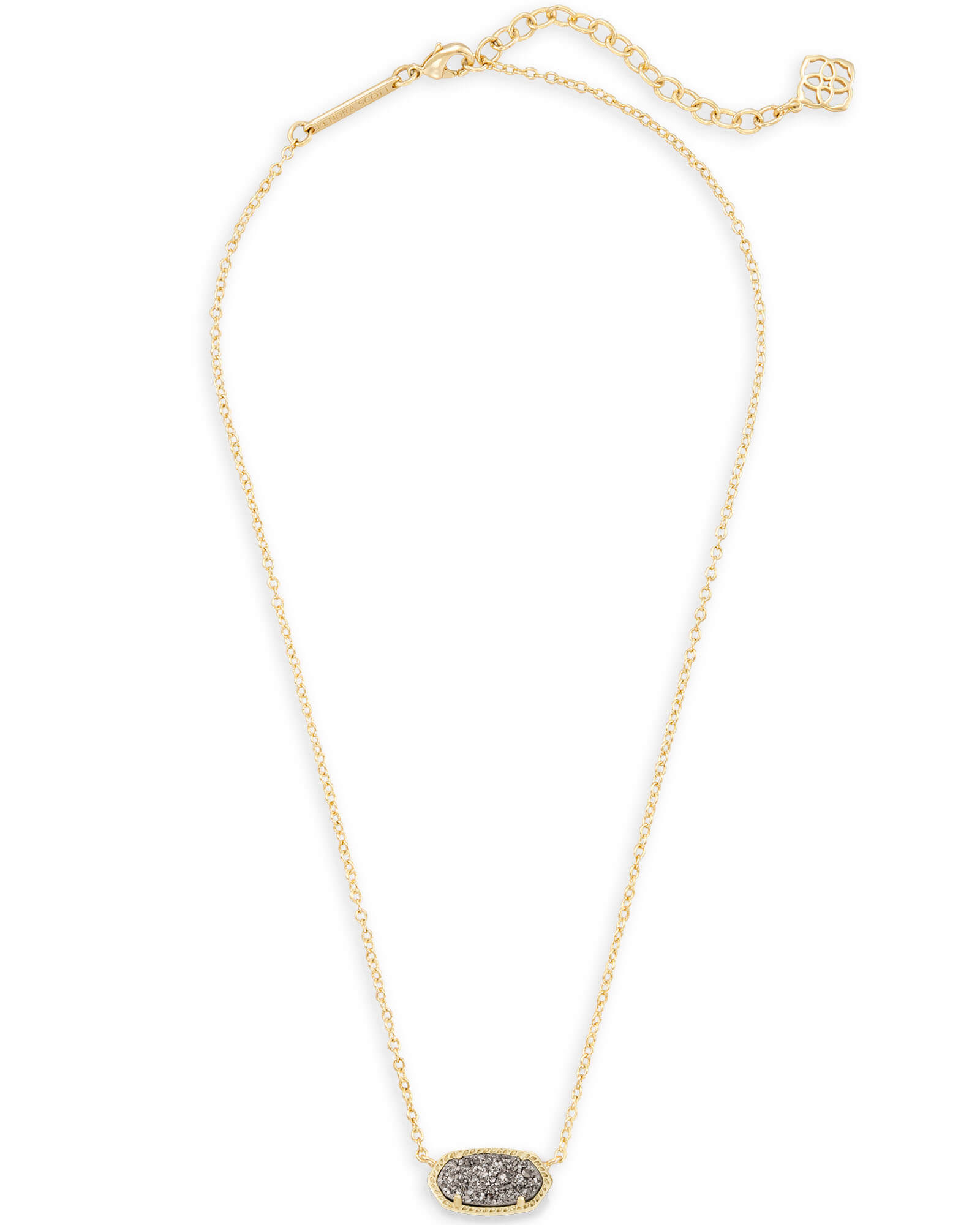 Elisa Pendant Necklace In Gold | Kendra Scott Throughout Most Up To Date Gate Of Love Necklaces (View 11 of 25)