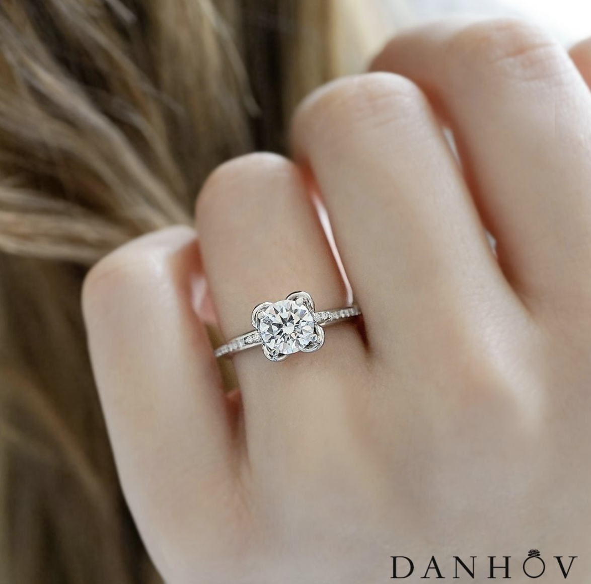 Engagement Rings | Danhov Diary Intended For Recent Sparkling Twisted Lines Rings (Gallery 24 of 25)