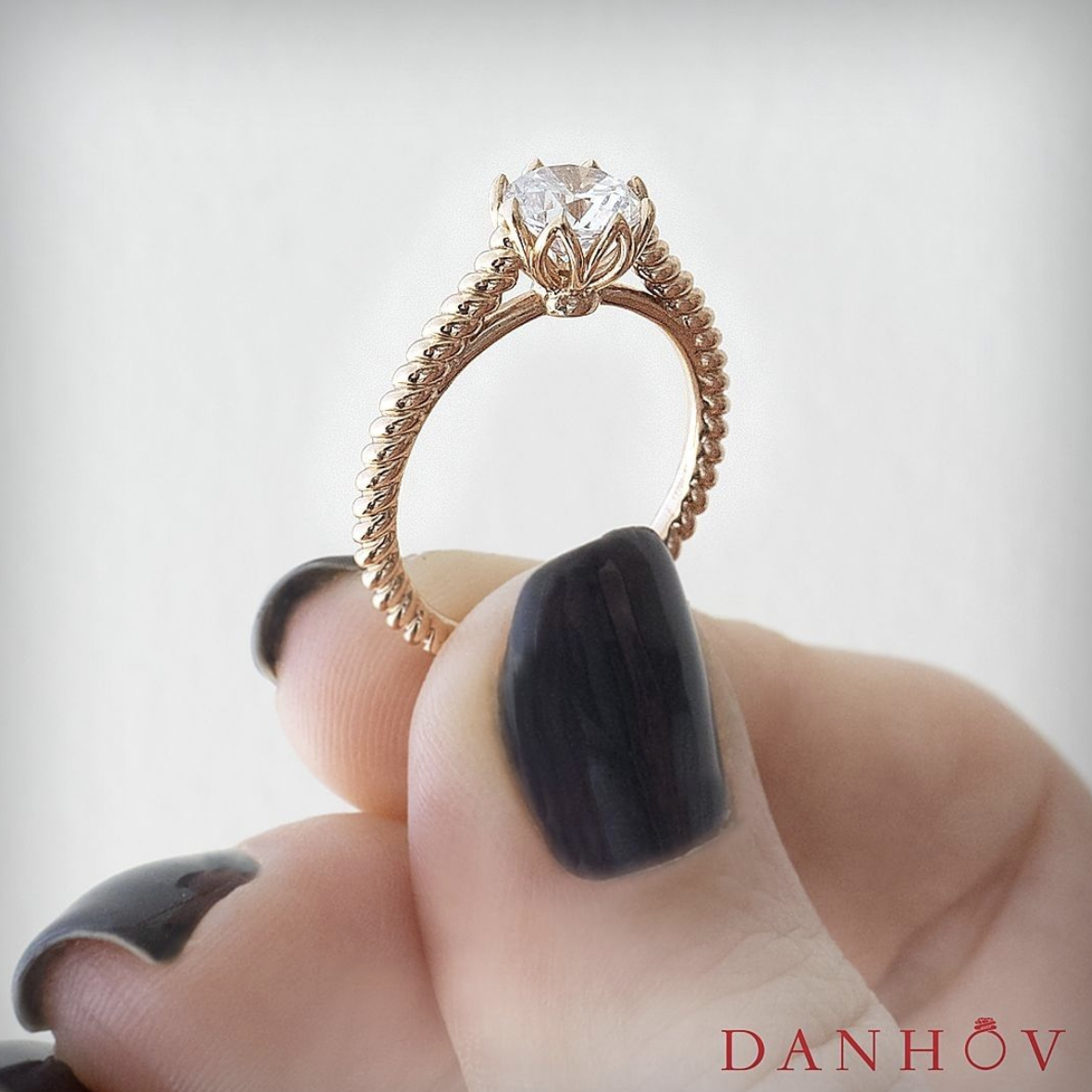 Engagement Rings | Danhov Diary Throughout Newest Sparkling Twisted Lines Rings (View 16 of 25)