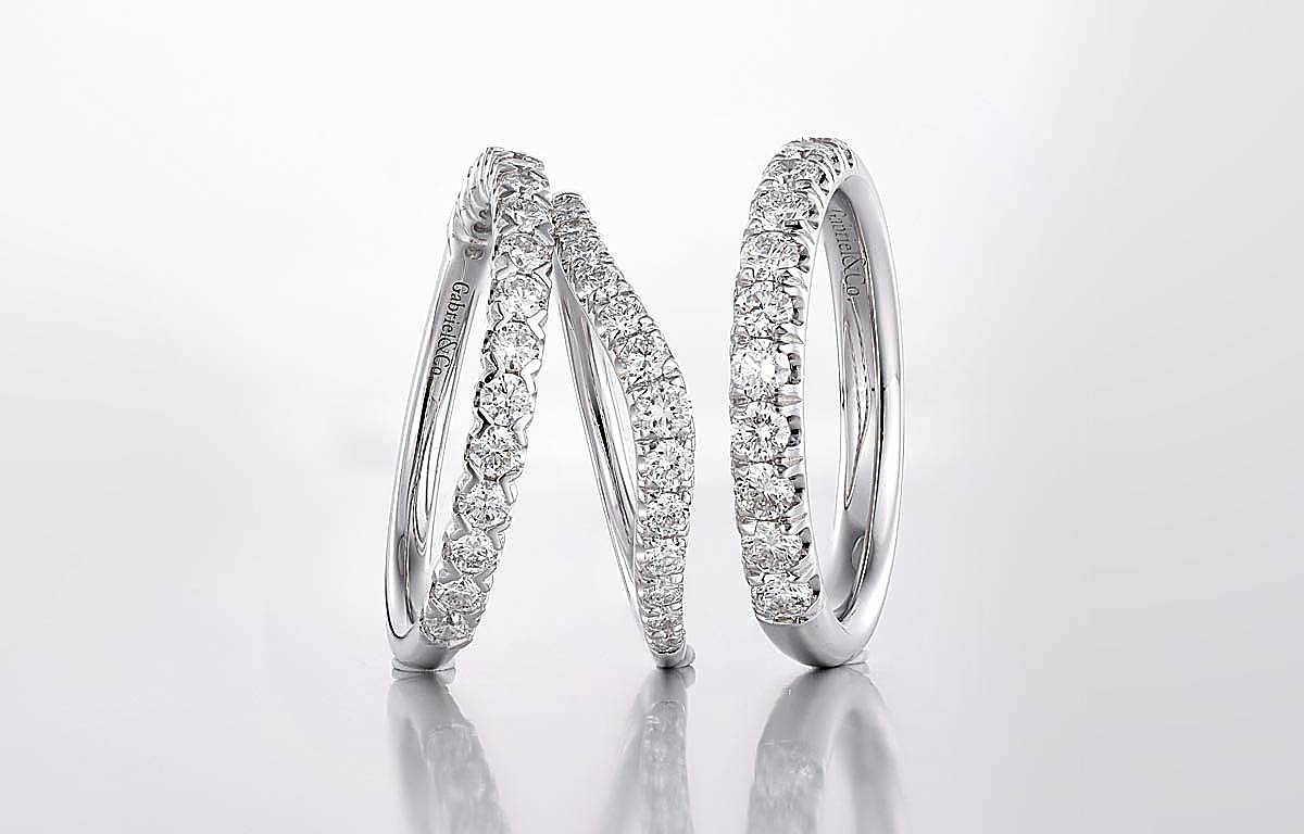 Engagement Rings & Fine Jewelry | Diamond Wedding Rings Intended For Latest Diamond Double Row Contour Tiara Anniversary Bands In White Gold (Gallery 25 of 25)