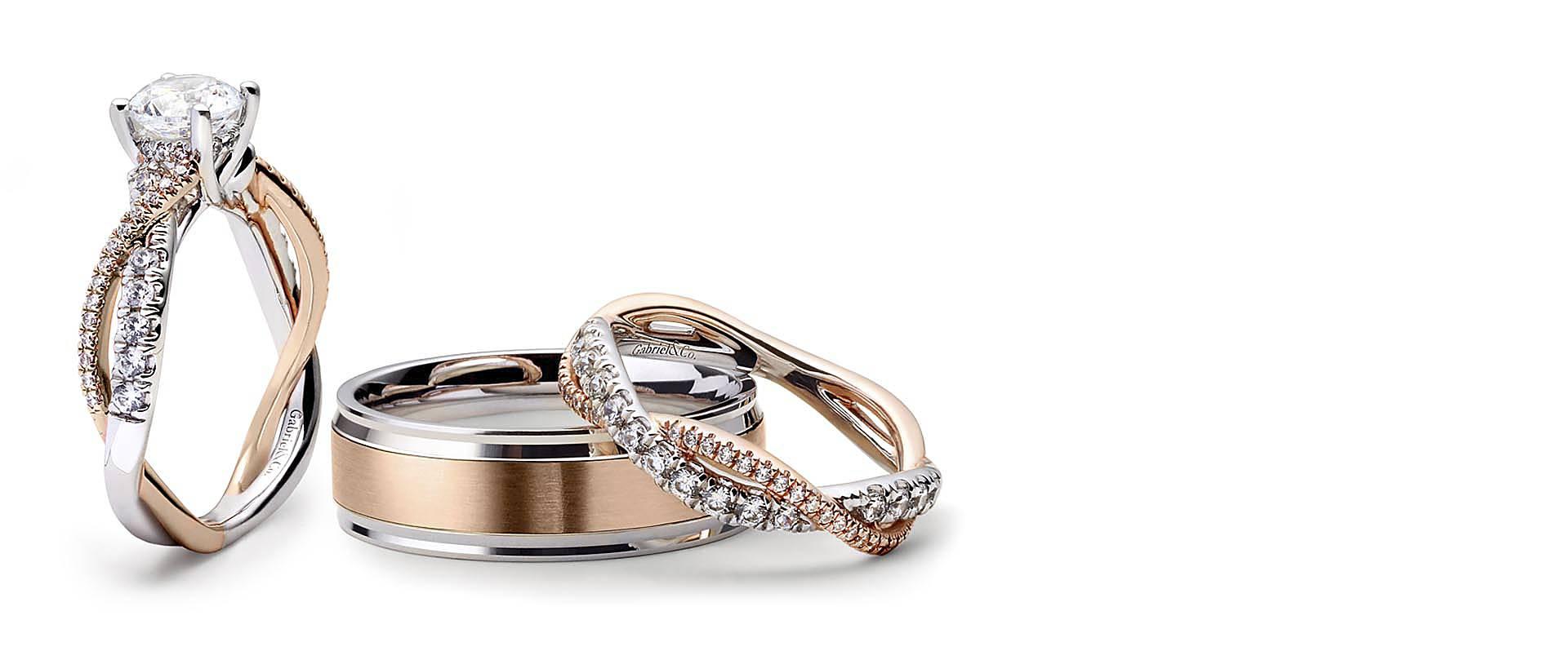 Engagement Rings & Fine Jewelry | Diamond Wedding Rings Pertaining To 2019 Diamond Layered Anniversary Ring In White Gold (View 11 of 25)