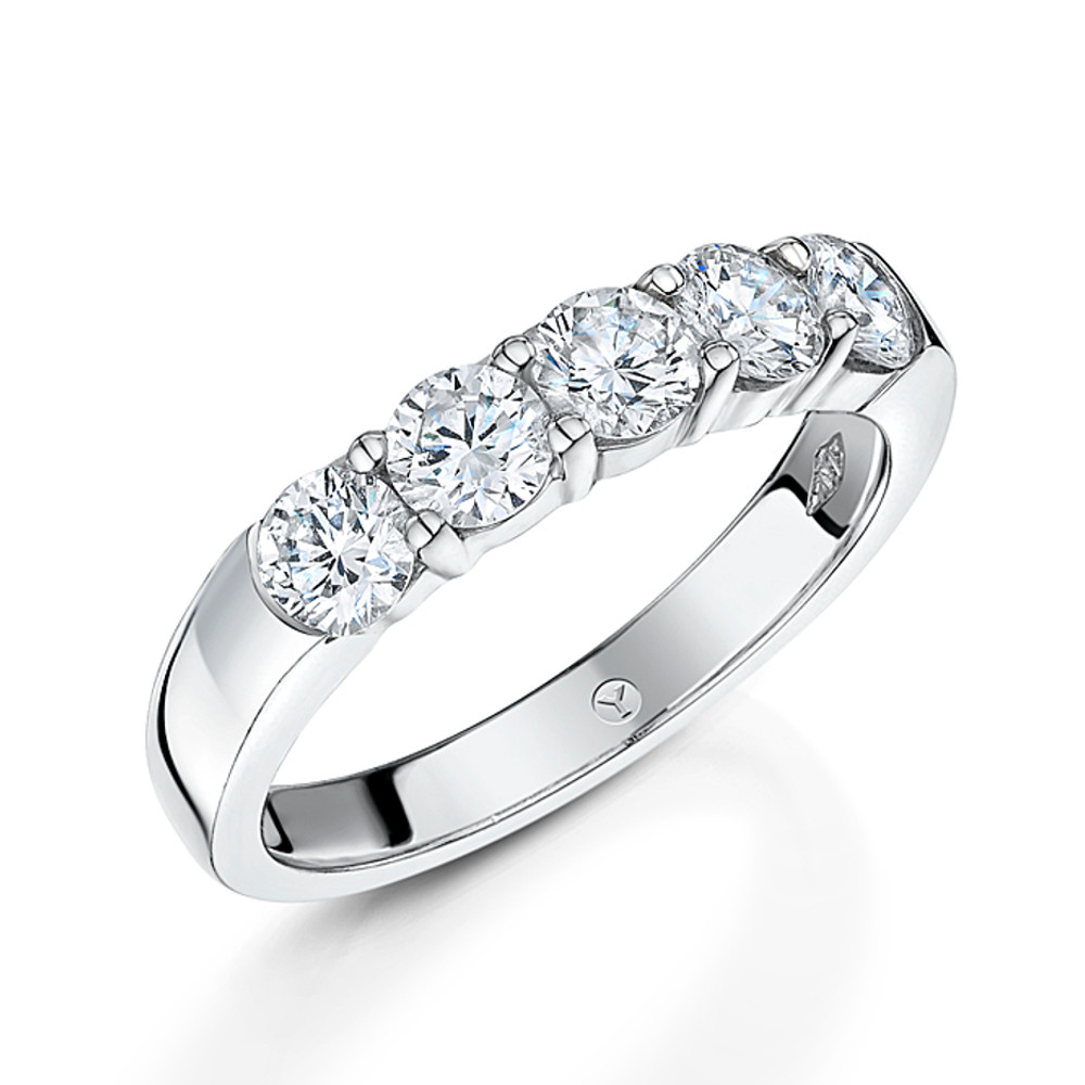 Eternity Rings – Why Jewellers Pertaining To Current Diamond Bold Five Stone Anniversary Bands In White Gold (View 4 of 25)
