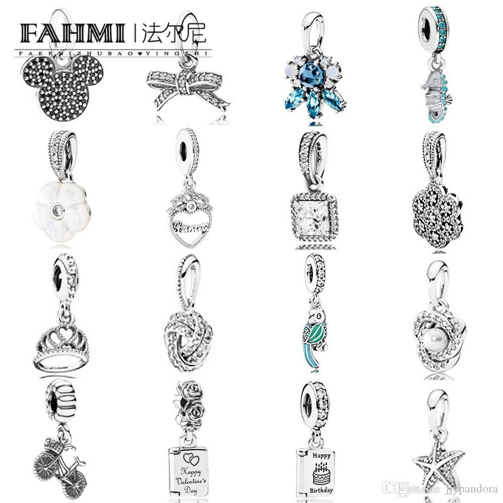 Fahmi 100% 925 Sterling Silver 1:1 Charm Bow Timeless Elegance Zirconia Pendant Sparkling Love Luminous Cz Crystallised Floral Necklace Regarding Current Luminous Florals Pendant Necklaces (Gallery 22 of 25)