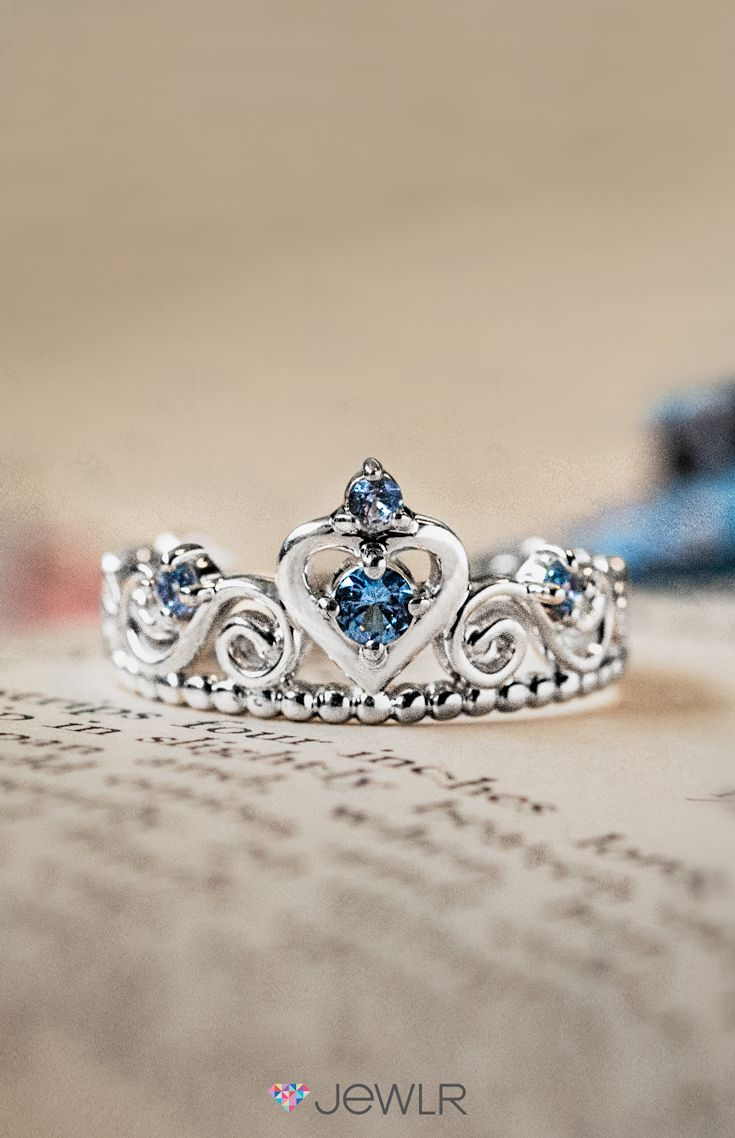 Feel Like A Princess In A Personalized Tiara Ring (View 8 of 25)