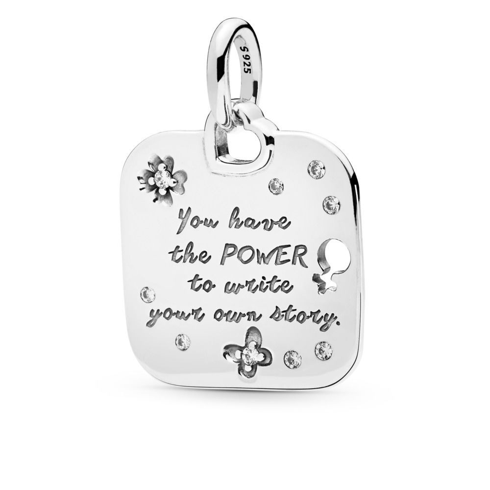 Female Empowerment Motto Pendant Pertaining To Most Popular Female Empowerment Motto Pendant Necklaces (View 2 of 25)