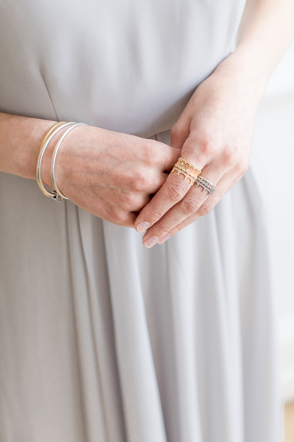 Finishing Touches For Your Bridal Party With Pandora With Regard To Most Current Honeycomb Lace Rings (View 5 of 25)