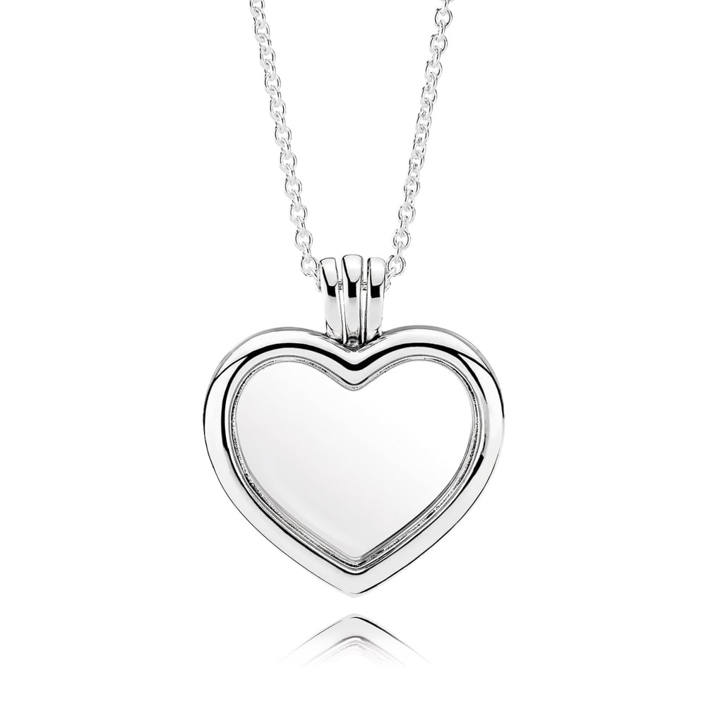 Floating Heart Locket Necklace 590544 Within Most Popular Heart Locket Plate Necklaces (View 10 of 25)