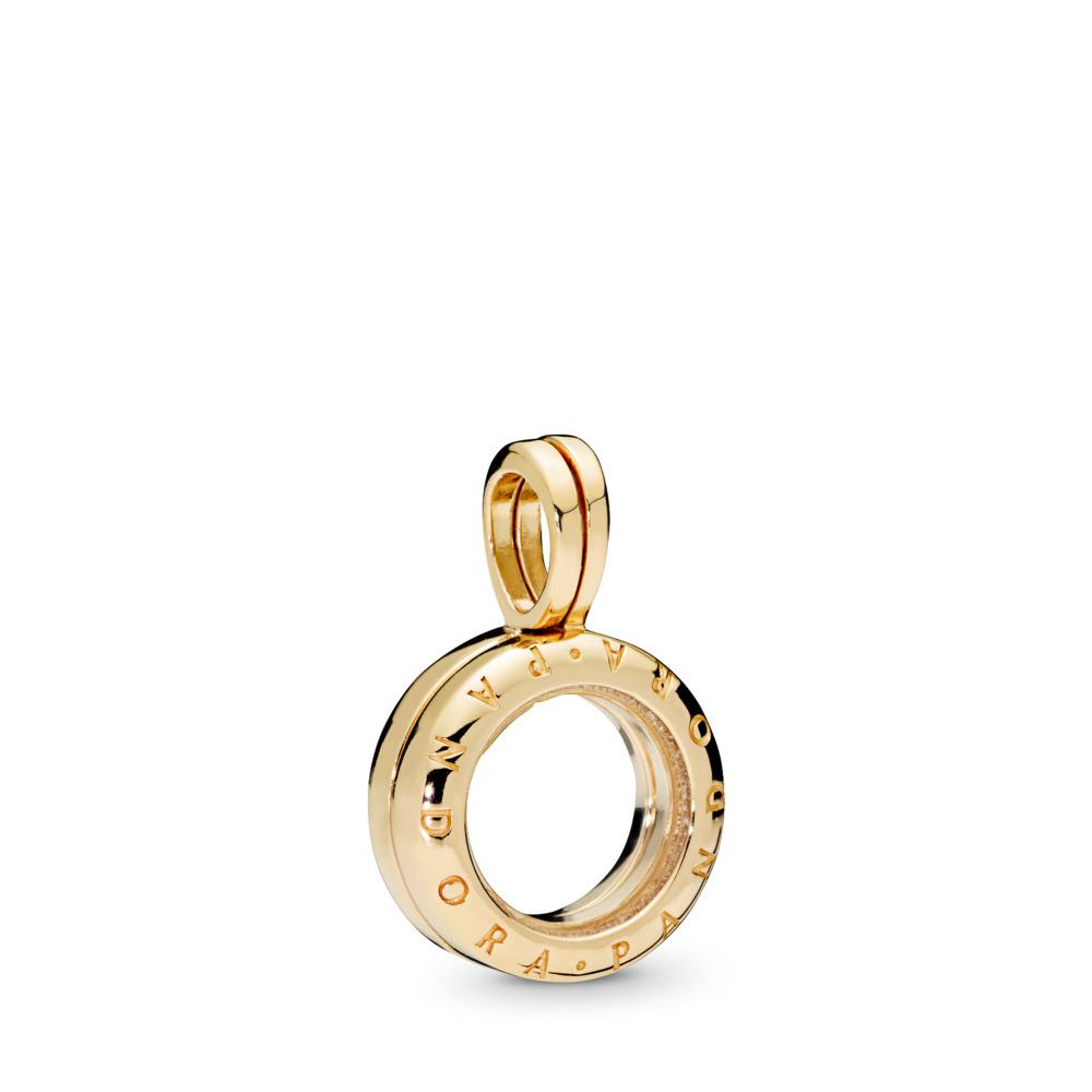 Floating Locket Dangle Charms Regarding Recent Pandora Lockets Logo Dangle Charm Necklaces (View 7 of 25)