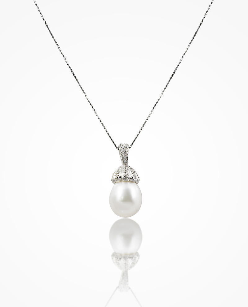 Floral Drop Pearl Pendant Regarding Most Popular Luminous Florals Pendant Necklaces (Gallery 24 of 25)