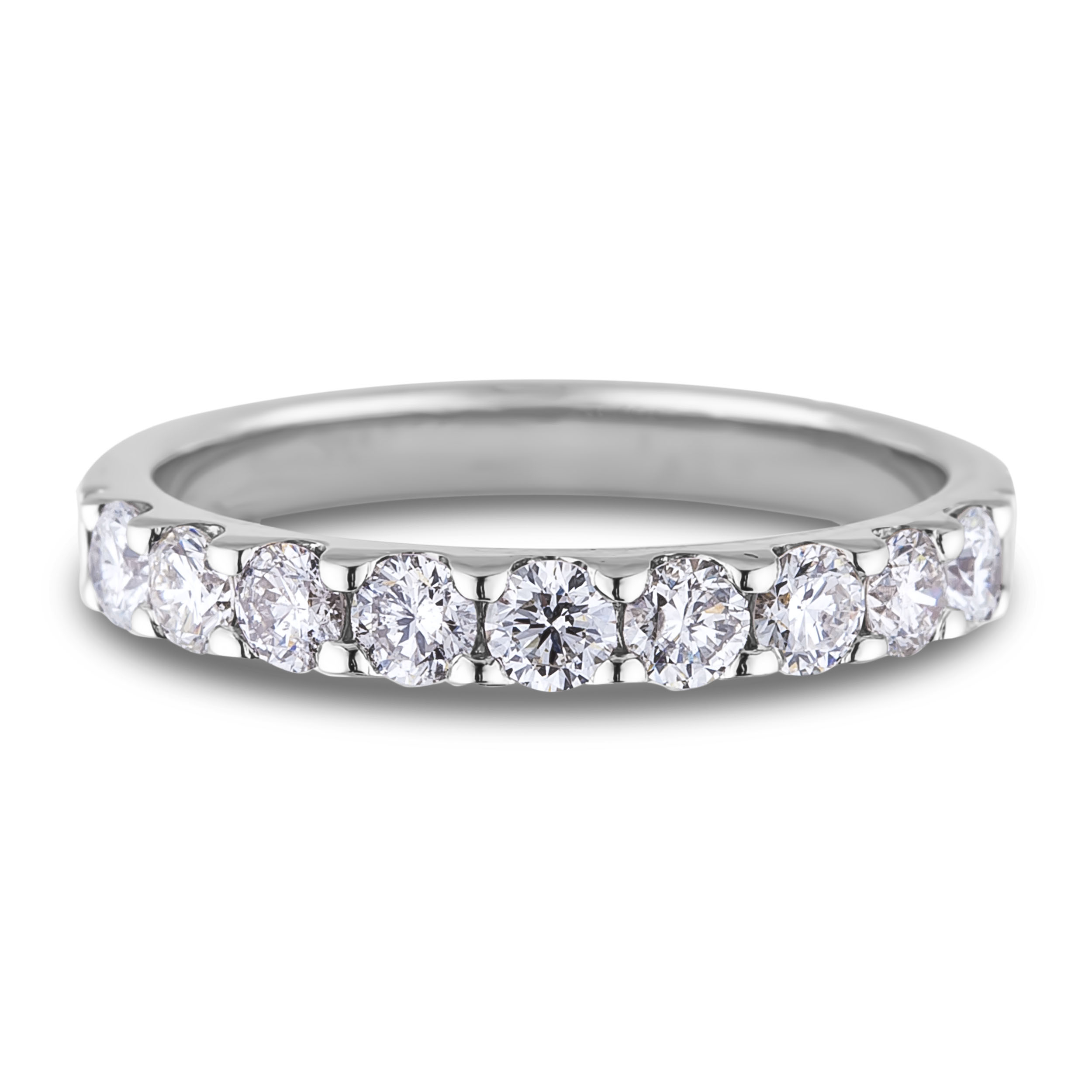 Forevermark Diamond Anniversary Ring Inside 2019 Diamond Anniversary Bands In White Gold (Gallery 18 of 25)