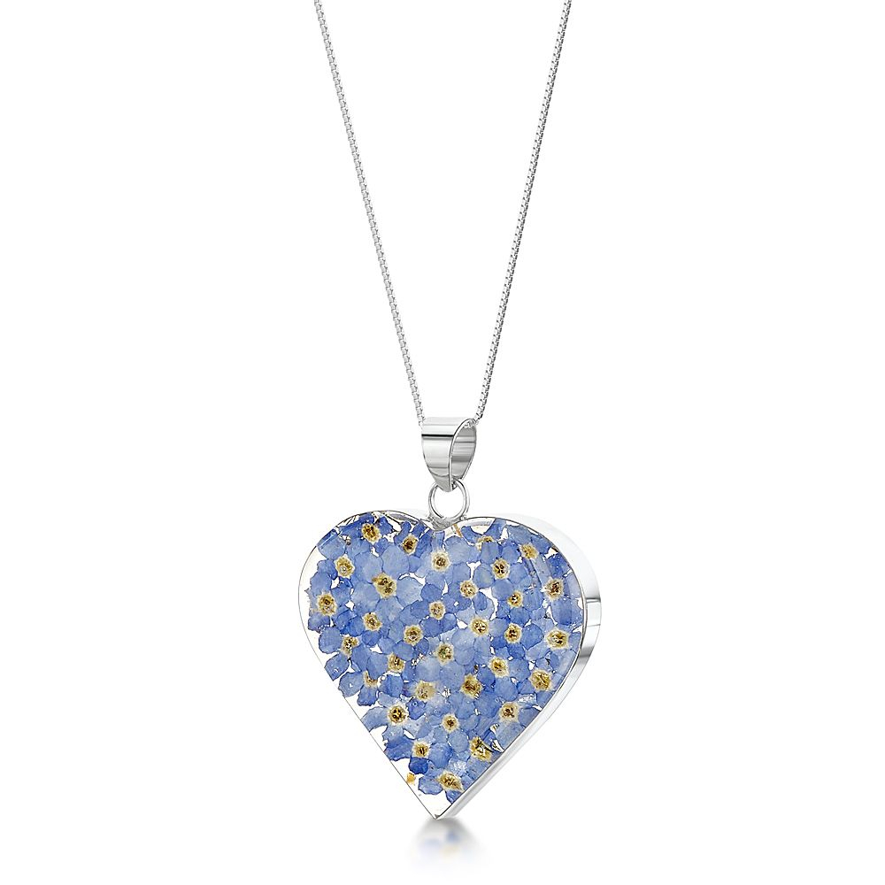 Forget Me Not Necklace Intended For Most Recent Forget Me Not Necklaces (Gallery 9 of 25)