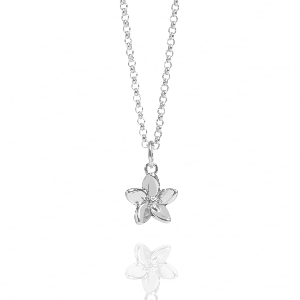 Forget Me Not Necklace Silver Within Most Recent Forget Me Not Necklaces (Gallery 2 of 25)