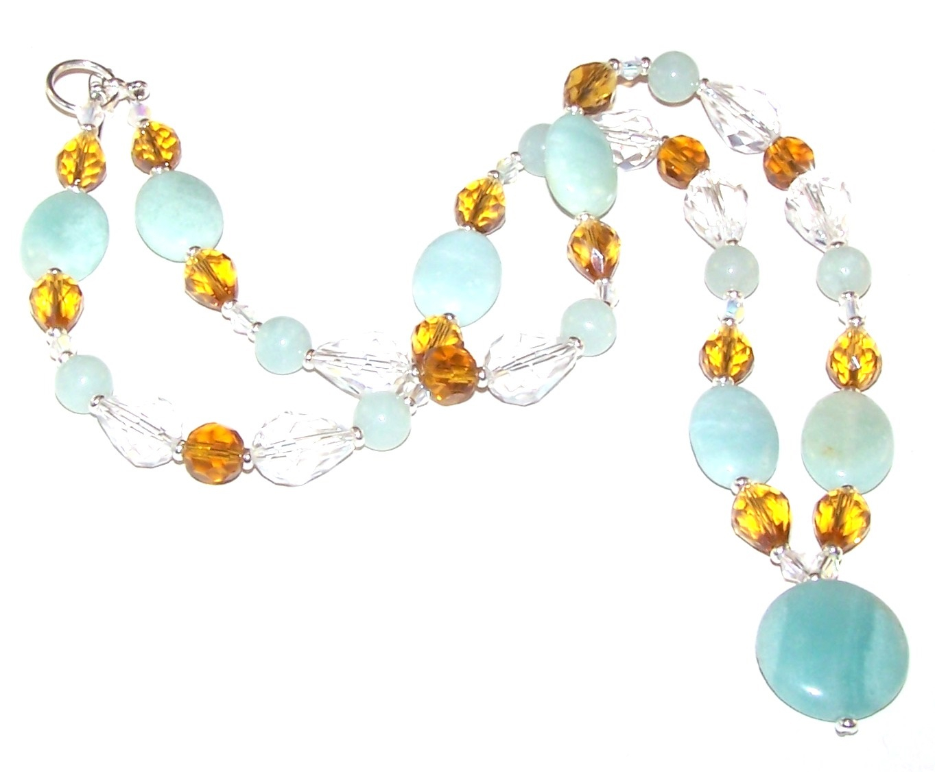Free Beaded Jewelry Patterns With Regard To Most Up To Date Sparkling Pattern Necklaces (View 5 of 25)