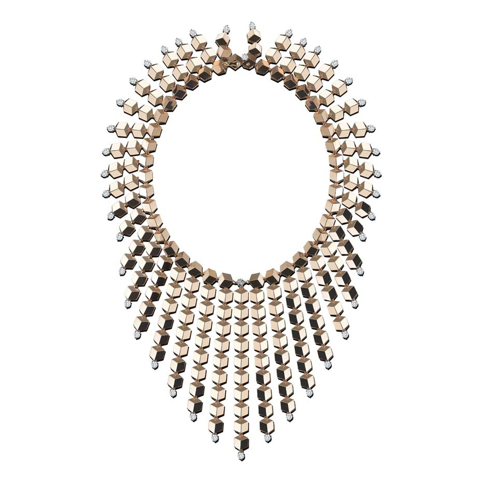 Geometric Jewellery: The Sharp Edge Of Style | The Jewellery Editor Throughout Most Popular Geometric Lines Necklaces (View 6 of 25)