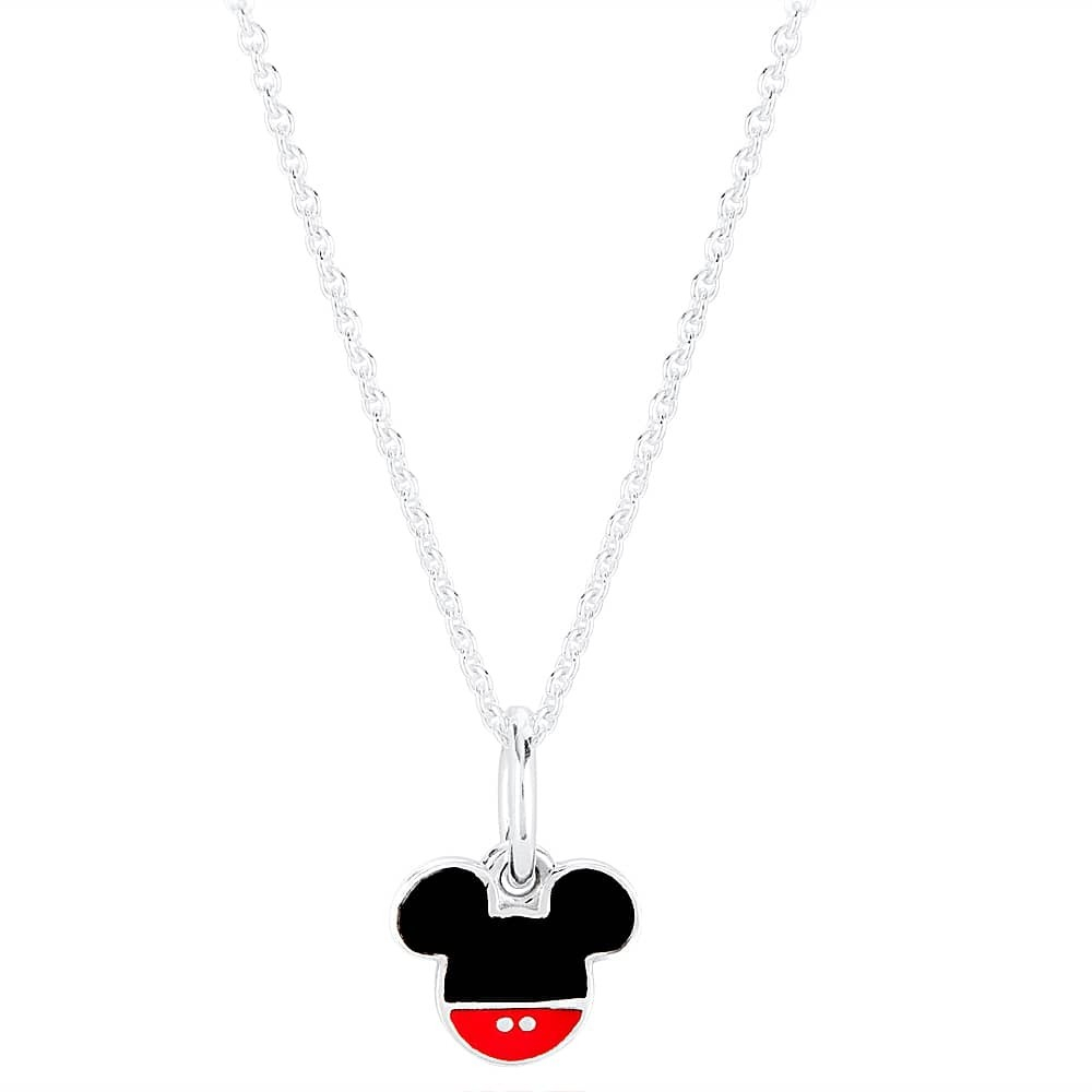 Germany Pandora Mickey Mouse Necklace 30088 81D09 Throughout Most Current Disney Sparkling Mickey Icon Petite Locket Charm Necklaces (View 9 of 25)