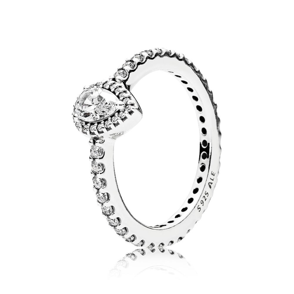 Geschäft Billig Pandora Rose Kollektion 2018 Ringe Strahlender Within Most Recent Pandora Logo Pavé Rings (View 7 of 25)
