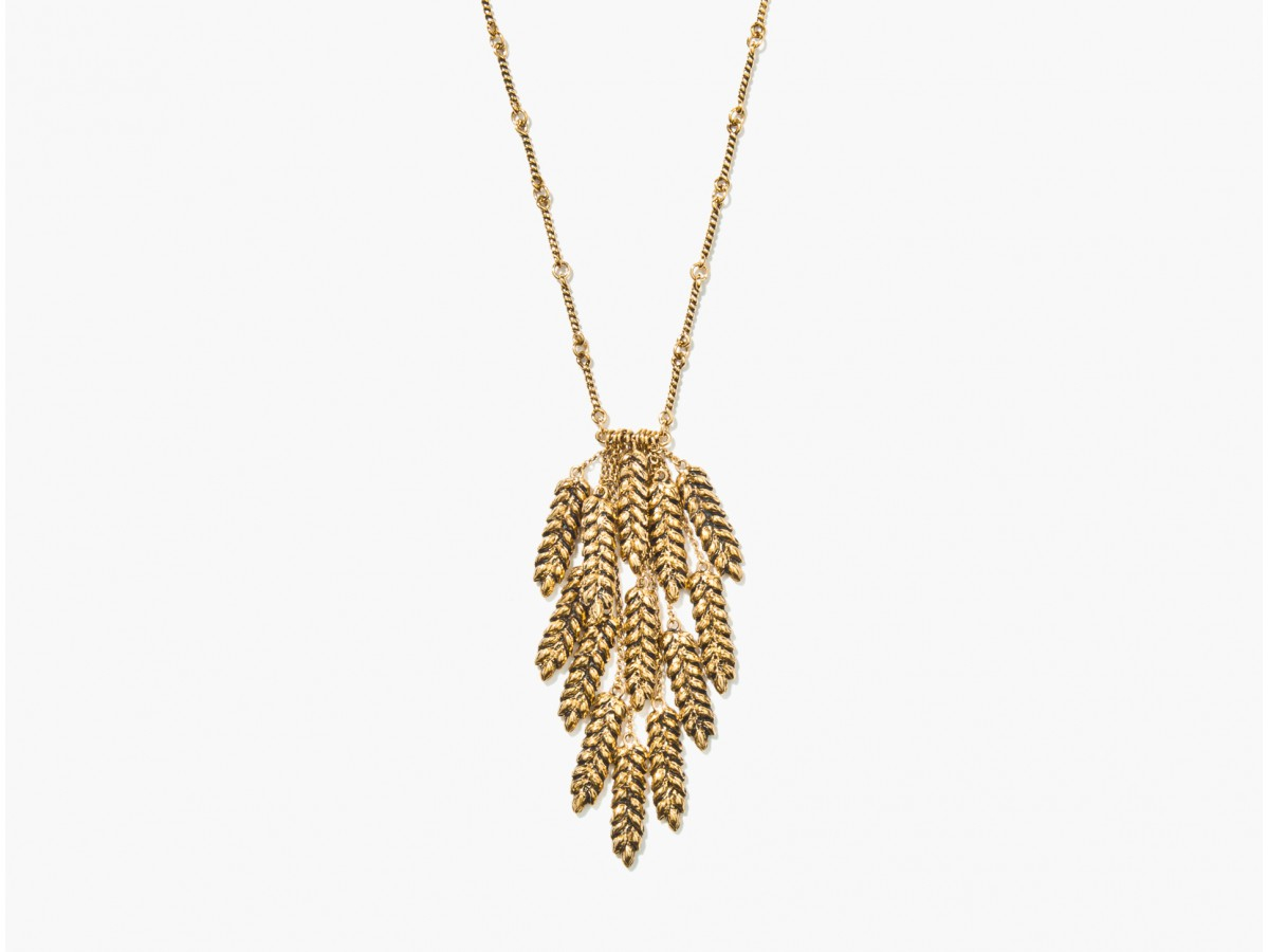 Featured Photo of Wheat Pendant Necklaces