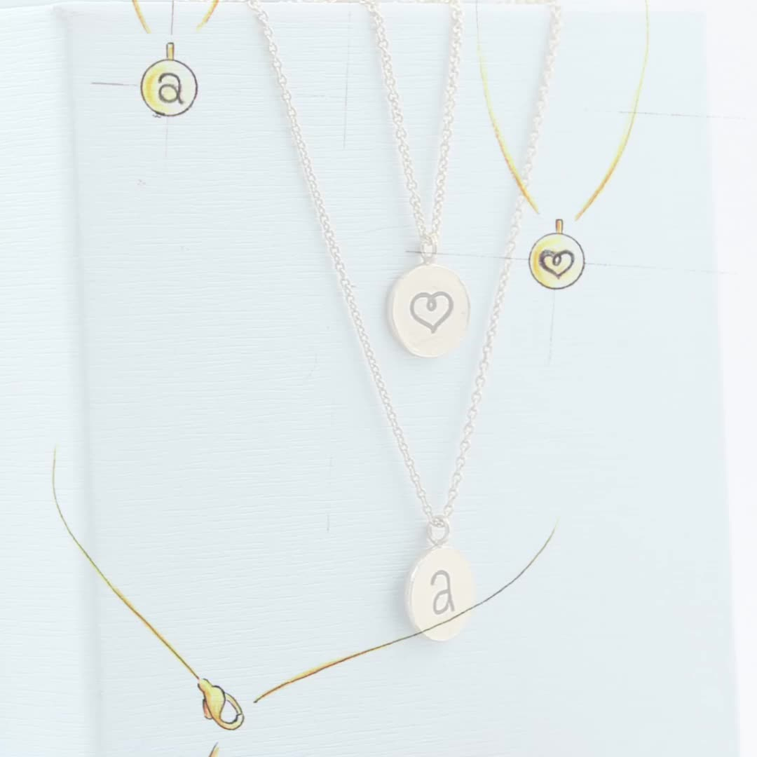 Gold Plated Name Letter N Double Side Disc Pendant Necklace – Buy Alphabet  Pendant Necklace,alphabet Necklace Jewelry,alphabet Necklace Product On Within Latest Letter N Alphabet Locket Element Necklaces (View 6 of 25)