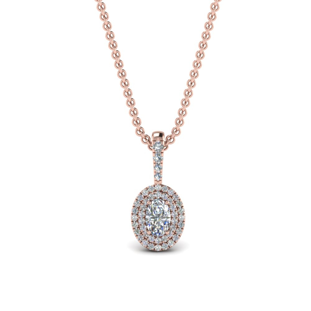 Halo Diamond Pendants | Fascinating Diamonds In Most Recent Oval Sparkle Halo Pendant Necklaces (Gallery 15 of 25)